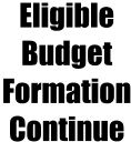 Eligible BudgetFormationContinue